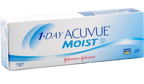 Контактные линзы Johnson&Johnson 1-DAY Acuvue Moist