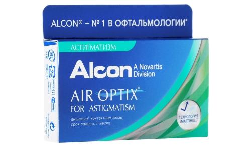 Контактные линзы Alcon Air Optix астигматические